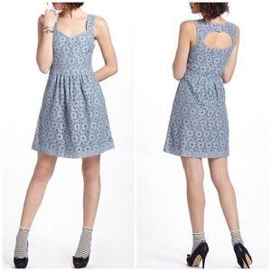 Anthropologie Deletta Silverfield Dress